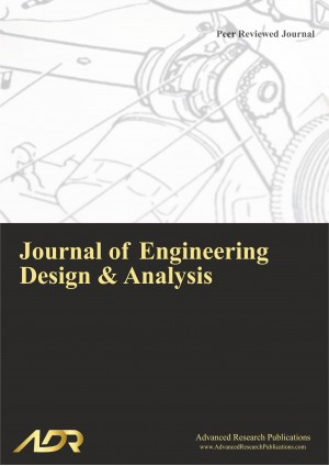 Journal of Engineering Design and Analysis