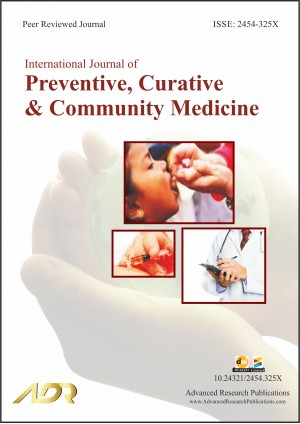 International Journal of Preventive, Curative and Community Medicine