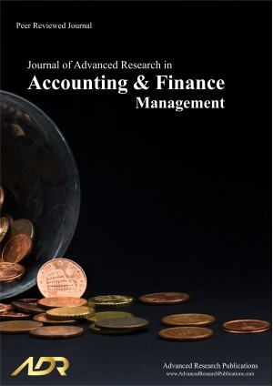 Journal of Advanced Research in Accounting and Finance Management