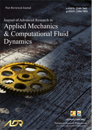 Journal of Advanced Research in Applied Mechanics and Computational Fluid Dynamics