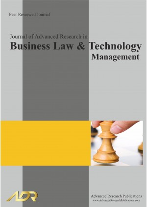 Journal of Advanced Research in Business Law and Technology Management