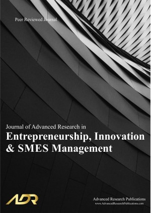 Journal of Advanced Research in Entrepreneurship, Innovation and SME Management