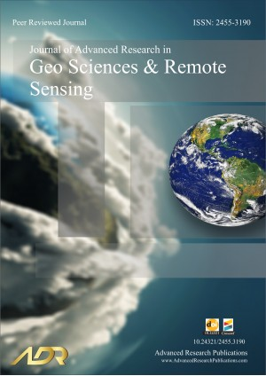 Journal of Advanced Research in Geo Sciences and Remote Sensing