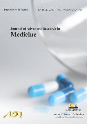 Journal of Advanced Research in Medicine