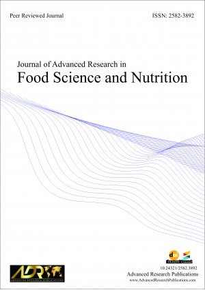Journal of Advanced Research in Food Science and Nutrition
