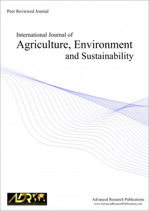 International Journal of Agriculture, Environment and Sustainability