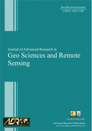 Journal of Advanced Research in Geo Sciences & Remote Sensing
