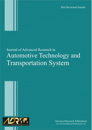 Journal of Advanced Research in Automotive Technology and Transportation System