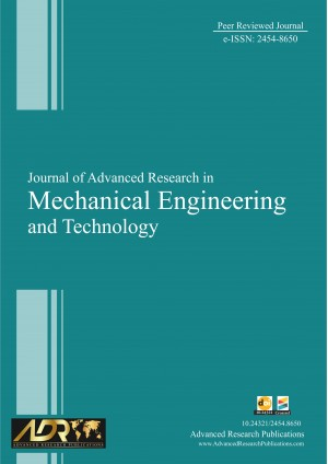 Journal of Advanced Research in Mechanical Engineering and Technology