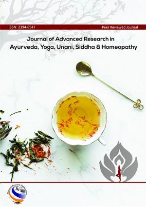 Journal of Advanced Research in Ayurveda, Yoga, Unani, Siddha and Homeopathy