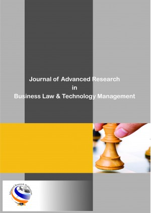 Journal of Advanced Research in Business Law & Technology Management