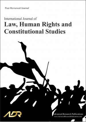International Journal of Law, Human Rights and Constitutional Studies