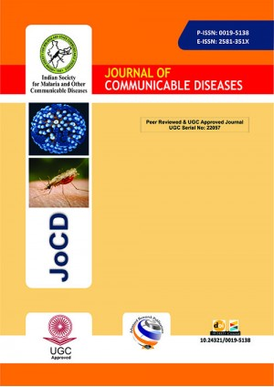 Journal of Communicable Diseases (JCD)