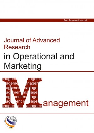 Journal of Advanced Research in Operational and Marketing Management