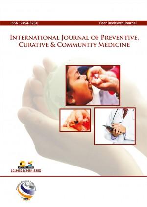 International Journal of Preventive, Curative & Community Medicine