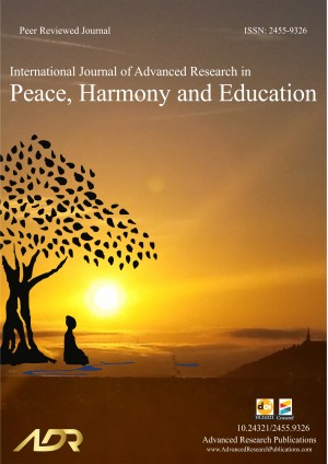 International Journal of Advanced Research in Peace, Harmony and Education