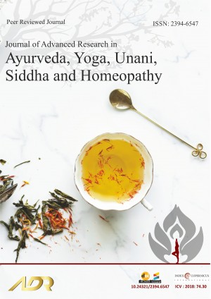 Journal of Advanced Research in Ayurveda, Yoga, Unani, Siddha and Homeopathy