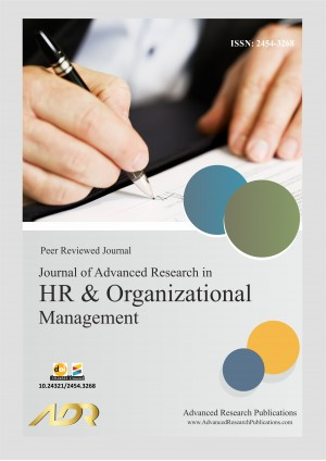 Journal of Advanced Research in HR & Organizational Management