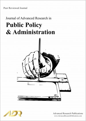 Journal of Advanced Research in Public Policy & Administration