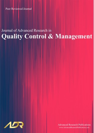 Journal of Advanced Research in Quality Control and Management