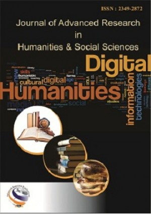 Journal of Advanced Research in Humanities and Social Science