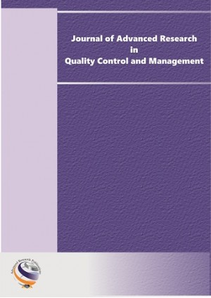 Journal of Advanced Research in Quality Control & Management