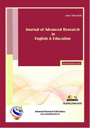 Journal of Advanced Research in English and Education