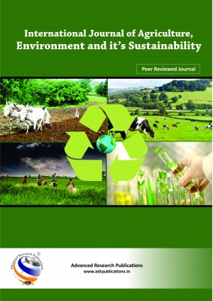 International Journal of Agriculture, Environment and it's Sustainability